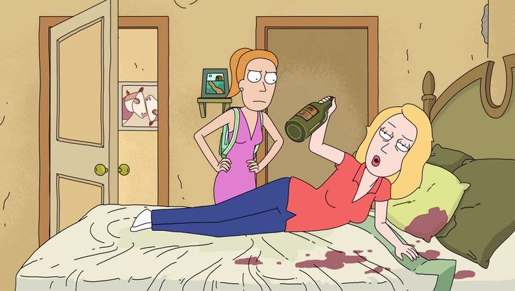 Image - S2e4 drunk beth.png | Rick and Morty Wiki | Fandom powered ...