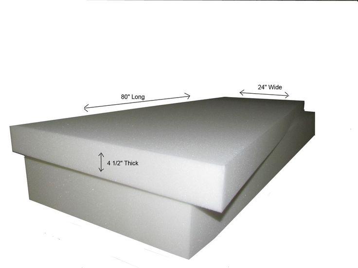 Leather Sofas Foam Mattress u Single Twin Size x x Medium Firm