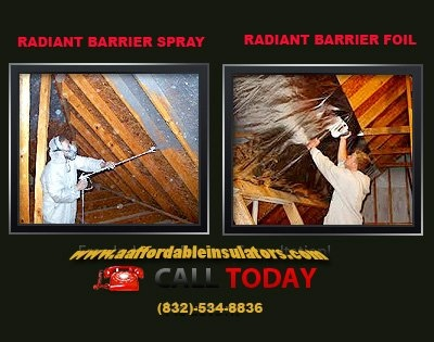 We are Houston's premiere Residential and Commercial Foil Radiant Barrier Company. Our Radiant Barrier Foil blocks 97% of the sun's radiant heat, reflecting it away from your attic and reducing your attic temperature up to 50 degrees, as well as increasing the efficiency of your existing insulation and your HVAC unit.  For more Call us today: (832)-534-8836
