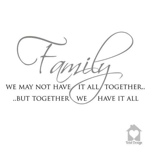 Family We May Not Have It All Together But by TotalVinylDesign