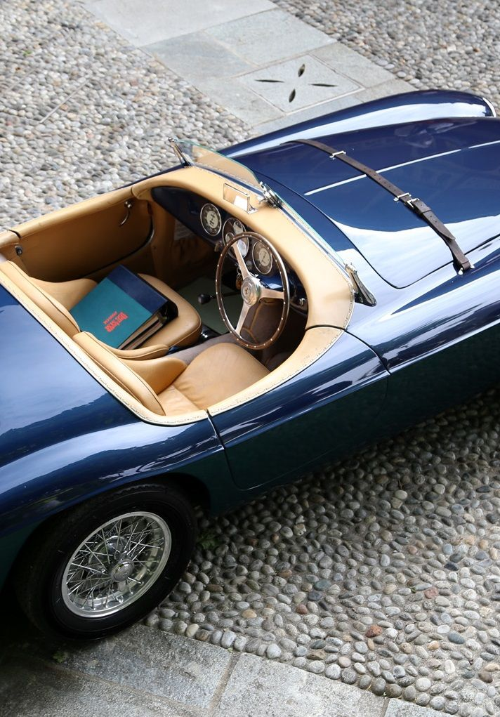"continuarte: ""  Ferrari 166 MM Barchetta Touring """