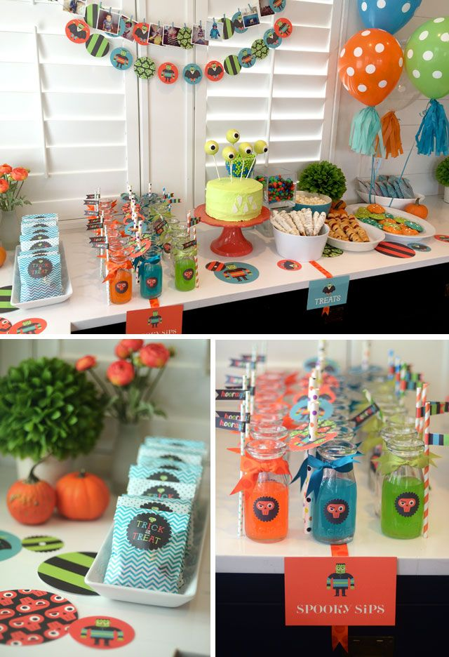 18 best images about halloween on pinterest easy craft for Craft birthday party places