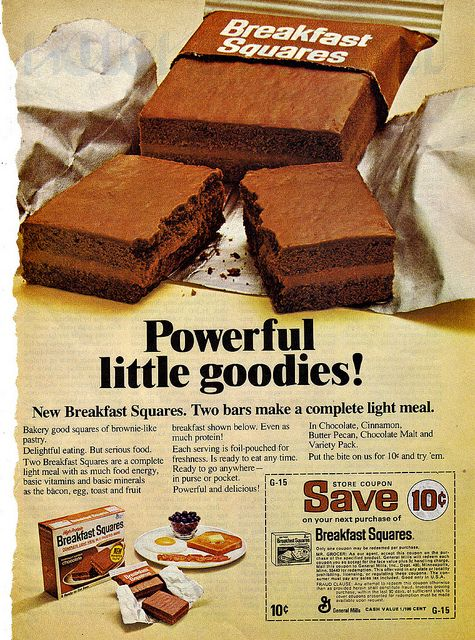 Weren't terribly healthy for you but then, neither are donuts and a lot of people start their day off with them.  I used to really like these.