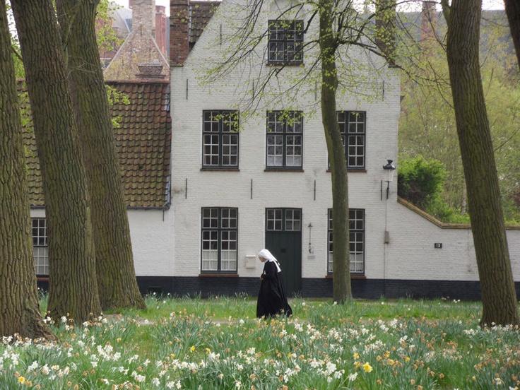 Bruges , le béguinage