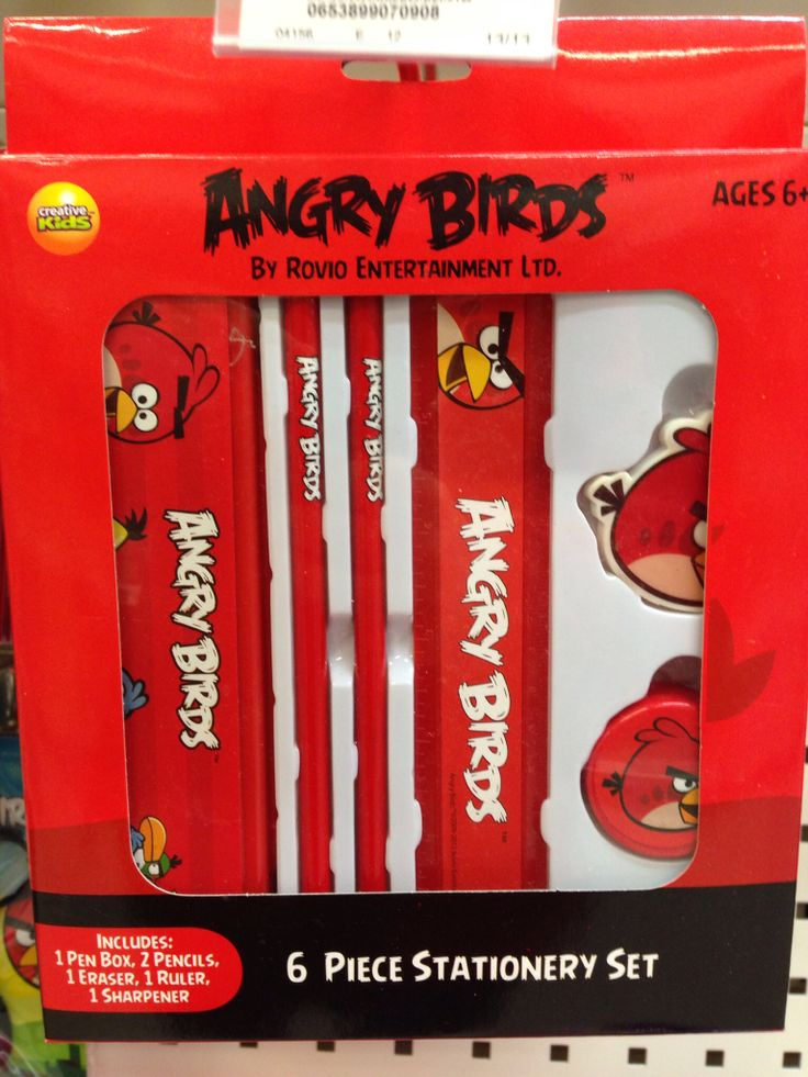 Angry Bird Stationary set