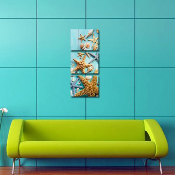 #Tablouri_Canvas din 3 piese:3 buc x 40 x 30 cm.Suprafata totala : 40 x 96 cm.