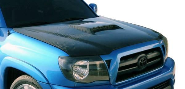 2005-2009 Toyota Tacoma Carbon Creations SR5 Hood - 1 Piece