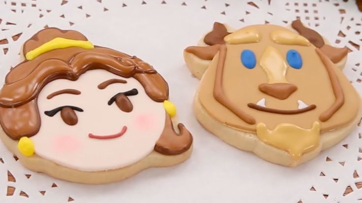 Beauty and the Beast Cookies | Disney Emoji Blitz | Disney Family - how to