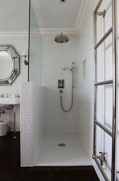 moderne badezimmer ebenerdigen duschen im trend