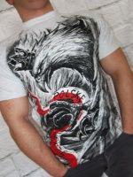 T-shirt WRP w Polskę wierzę szary