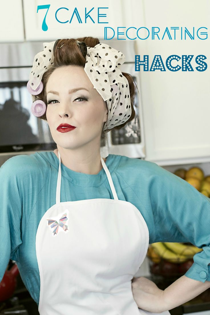 Cake Decorating Hacks : 7 Cake Decorating Hacks! Inexpensive ways to decorate like a pro! Paper Wings Cakes ...