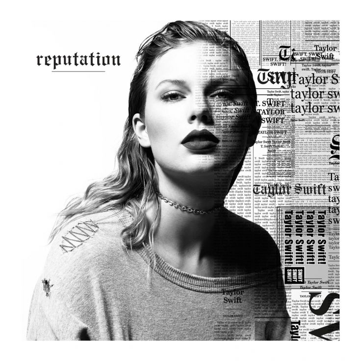Reputation CD by Taylor Swift