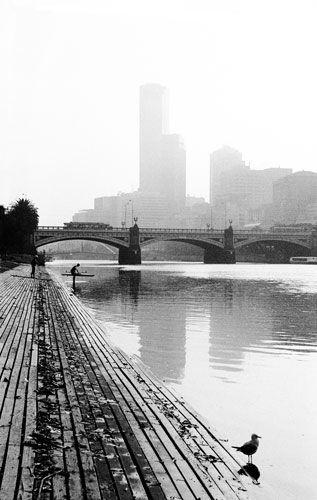 Matt Irwin, The Yarra River, Melbourne.