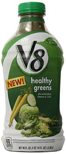 V8 Veggie Blends Healthy Greens Juice, 92 Fluid Ounce V8 http://www.amazon.com/dp/B00STQHZSC/ref=cm_sw_r_pi_dp_k9Nlvb0QQGRNJ