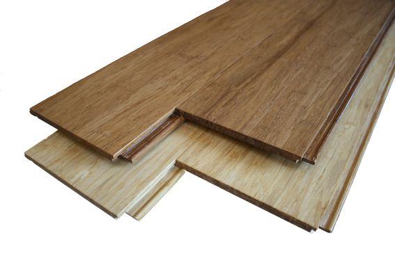 Flooring option - strand woven bamboo.