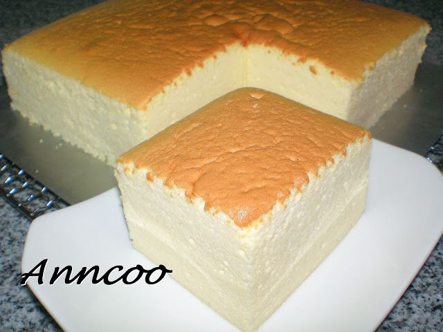Japanese Cotton Cheese Cake Anncoo Journal Come For