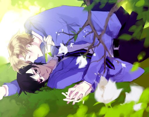 Tamaki x Kyoya (Ouran High School Host Club) hahaha. You know it could have happened...
