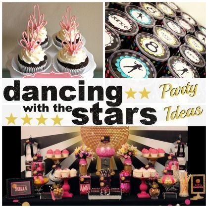 Have a (Mirror) Ball! Dancing with the Stars Party Ideas