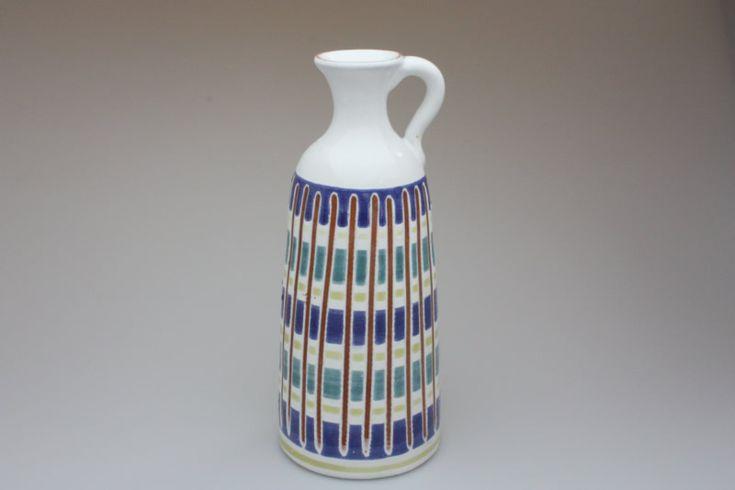 画像1: Upsala Ekeby  ウプサラ エクビィ Atterberg一輪挿しの花瓶