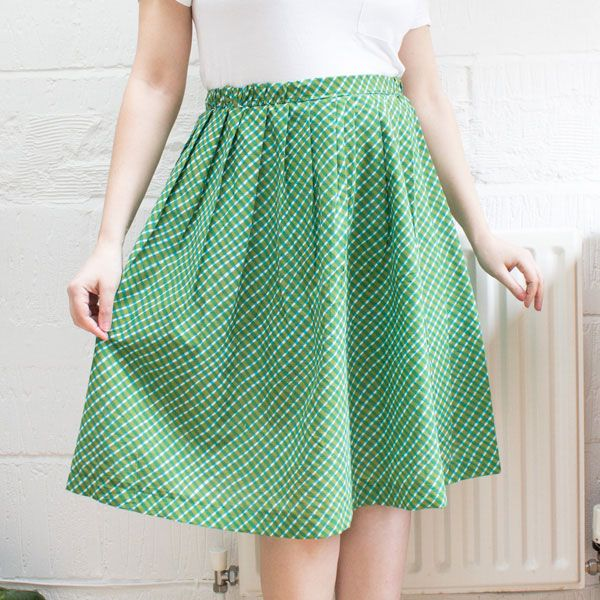 How to Make a Gathered Skirt