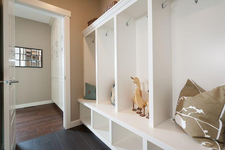 Mudroom - Built-in closets