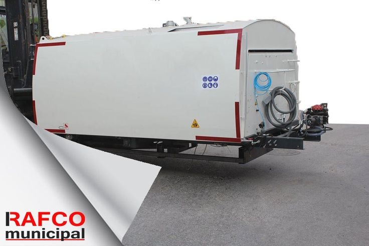 RM4000 4m³ Truck Mounted Road Sweeper Shipping
