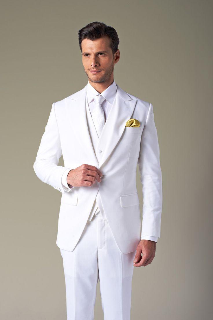 Best 25  Mens white suit ideas only on Pinterest | White tuxedo ...