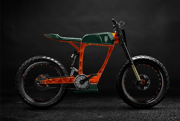 This Storta Electric Bike From Officine Riga Has Us Prepared To