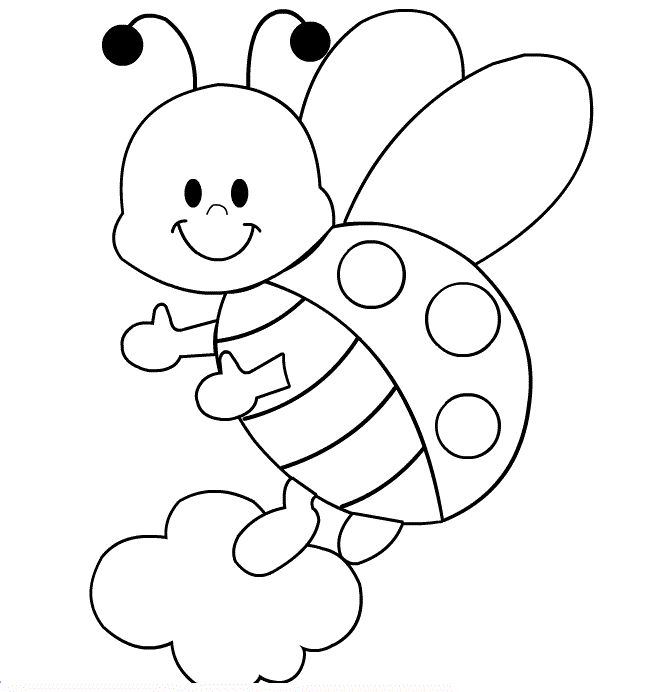 ladybug coloring pages free printables - Toddler Coloring Pages Printable