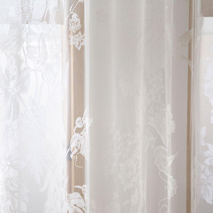 Stunning GARDINE MIT SPITZE UND BLUMENMUSTER Vorh nge Schlafen Zara Home Deutschland