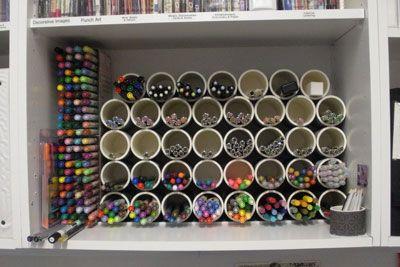 Organizacion para lapices. No se cuando lo use, pero es bueno soñar