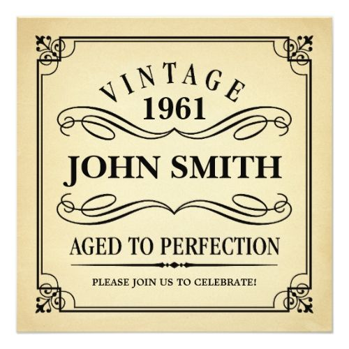 125 best 50th Birthday Party Invitation images on Pinterest