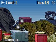 4 Wheel Madness 2 Flash Game. Reach the finish faster than your rival and crush as many cars on your way as possible. Play Fun Monster Trucks Games Online.