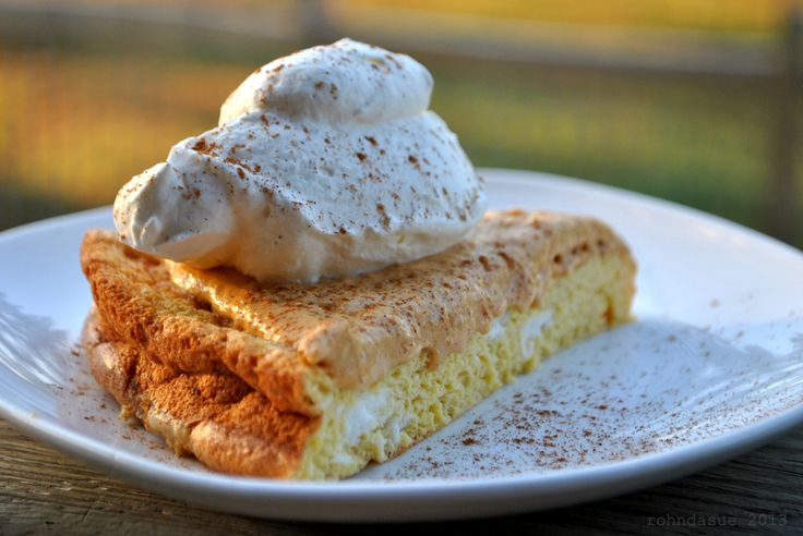 I love the Oopsie Rolls! They are so versatile. I made up the sweetened version (page 387) in a 9 inch cake pan, topped with a mixture of 1/2 cup cream cheese, 1/2 cup pumpkin puree, sweetener and vanilla. Add some whipped cream, sprinkle with cinnamon and you have Pumpkin Delight!