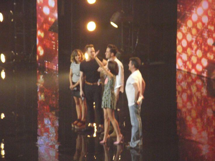 Możliwość bycia publicznością na żywo w The X Factor UK w 2015 :D