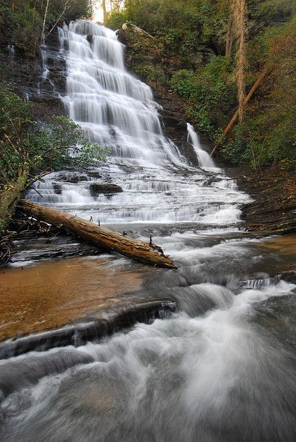 Sid's Falls, South Carolina  #Waterfalls #BeautifulNature #NaturePhotography #Nature #Photography #Travel #SouthCarolina