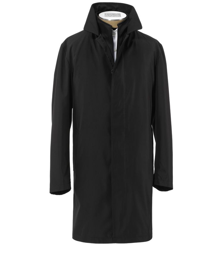 Traveler Collection Traditional Fit Double-Collar 3/4 Length Raincoat - Online ONLY Outerwear- Up to 70% Off | Jos A Bank