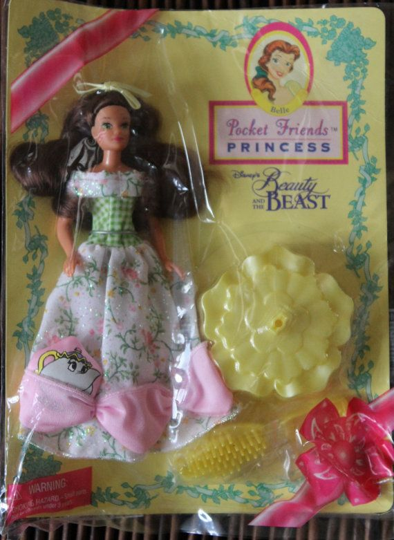 Princess beauty and the beast doll by ZuziDesign on Etsy, $9.90