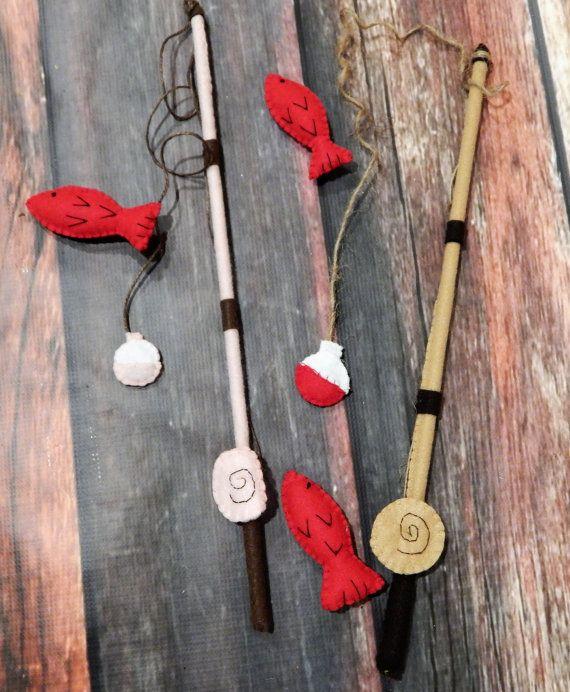 Felt Fishing Game:  Pretend Play, Room Decor, Toy Game