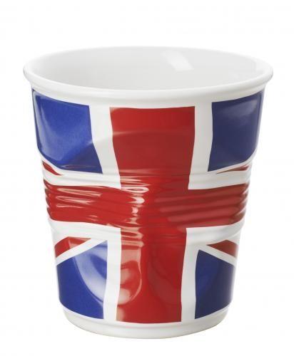 REVOL - Pot à ustensiles froissé Revol 1litre drapeau Royaume-uni - ø 14.2 - H 15 cm - Idée cadeau fête des mères style vintage sur francisbatt.com #fetedesmeres #vintage #retro #francisbatt