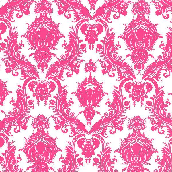 tempaper designs damsel temporary wallpaper fuchsia and white