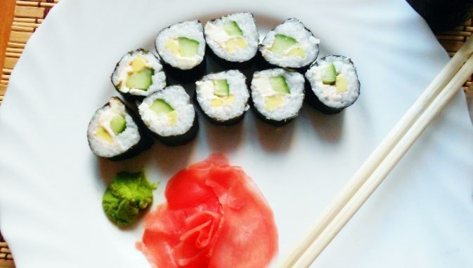 Вегетарианские суши и роллы