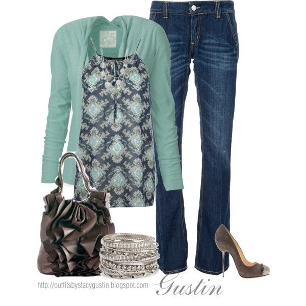 Casual Outfit: Casual Fashion, Shoes, Dreams Closet, Fashion Outfits, Cute Outfits, Colors, Flats, Blue Cardigans, Casual Outfits