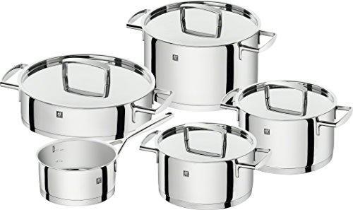 Oferta: 154.99€ Dto: -46%. Comprar Ofertas de Zwilling Passion - Set de batería de cocina, 5 piezas barato. ¡Mira las ofertas!