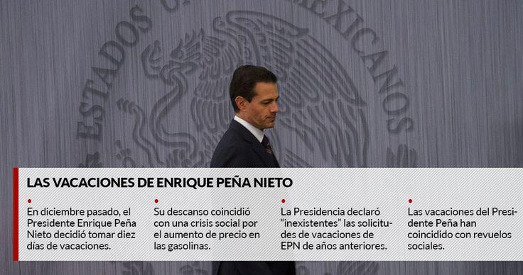 Hasta ahora, el Presidente Enrique Peña Nieto ha disfrutado de sus vacaciones sin secretos. Algunos fotoperiodistas han logrado captarlo en la playa, al lado de su familia o en campos de golf. De hecho, ha posado de manera deliberada sobre la arena. Punta Mita, Nayarit y Mazatlán, Sinaloa, han sido