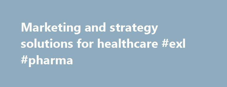 Marketing and strategy solutions for healthcare #exl #pharma http://pharma.remmont.com/marketing-and-strategy-solutions-for-healthcare-exl-pharma/ #pharmaceutical marketing # With more than 20 years experience in the Australian pharmaceutical market, Kim Gould has built AbsolutePharma into one of Australia's premier healthcare service suppliers. With a who's who of past and present customers, AbsolutePharma has become the preferred outsourcing and consulting choice. Offering customers a…