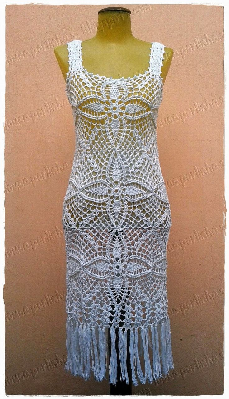 louca por linhas - crochet e patchwork: Vestido Mamelia