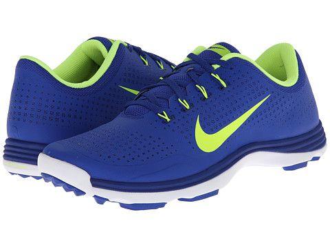 Nike Golf Nike Lunar Cypress Bright Blue/Volt/White - 6pm.com