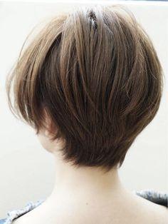 後ろ姿で美人を作る♡ショートヘア・ボブカタログ【2016髪型】 - NAVER まとめ