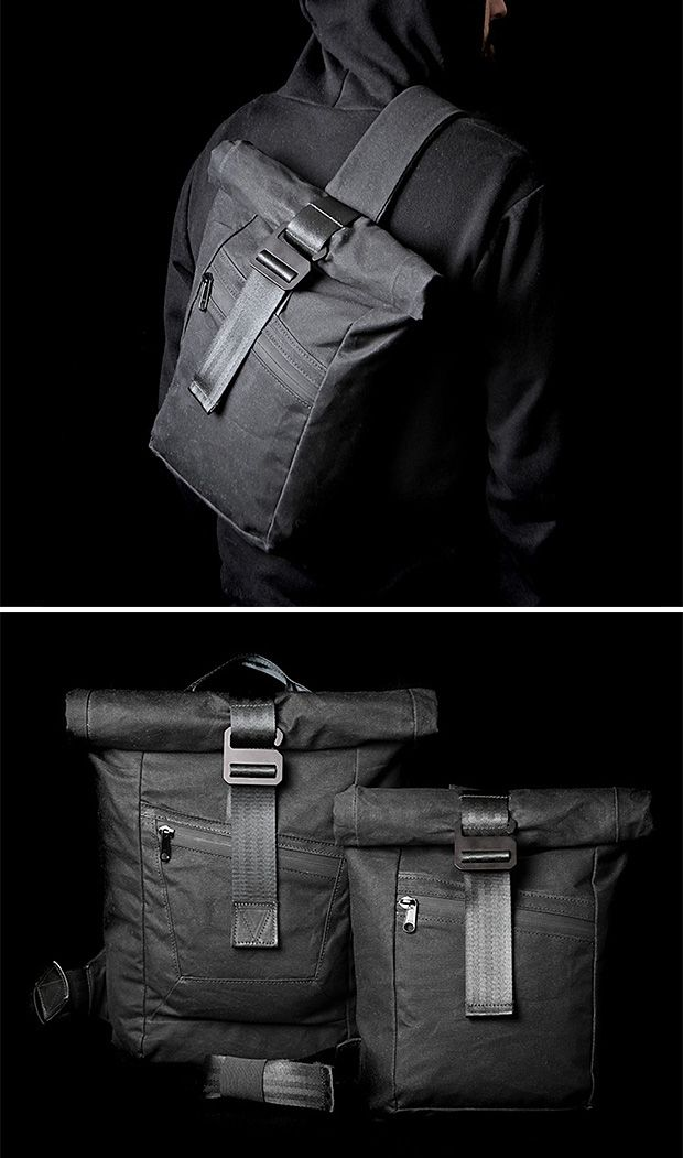 Modern Industry Redux Slingpack and Drive Rolltop Backpack